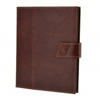 Кожаный чехол для iPad Alfa Romeo Vintage iPad Holder In Genuine Distressed Leather, артикул 5916688