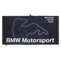 Пляжное полотенце BMW Motorsport Beach Towel Dark Blue, артикул 80232285872