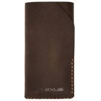 Кожаный чехол Lexus для iPhone 6 Plus, Leather Smartfone Case Brown, артикул LMCL13022L