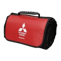 Сумка-плед Mitsubishi Plaid-Bag, Black-Red, артикул RU000021