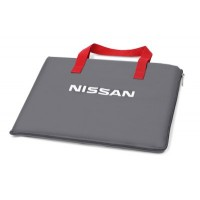 Сумка плед Nissan Plaid Bag, Grey, артикул 999C1452LX