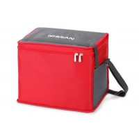 Сумка термос Nissan Thermo Bag, Grey-Red, артикул 999C147LXX