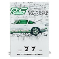 Вечный календарь Porsche Enamel Calendar RS 2.7 Collection - Limited Edition, артикул WAP0920200H