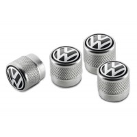 Колпачки на ниппель Volkswagen Valve Dust Caps, For Rub/Met, артикул 000071215