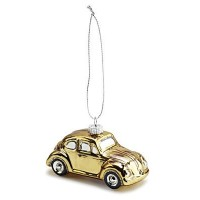 Елочная игрушка Volkswagen Decoration Christmas Gold Beetle, артикул 16D087790A