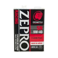 Моторное масло IDEMITSU Zepro Racing 5W40 SN Fully Synthetic, 4л