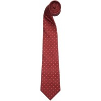 Галстук Jaguar Men's F-type Print Silk Tie Red, артикул JSTFTTR